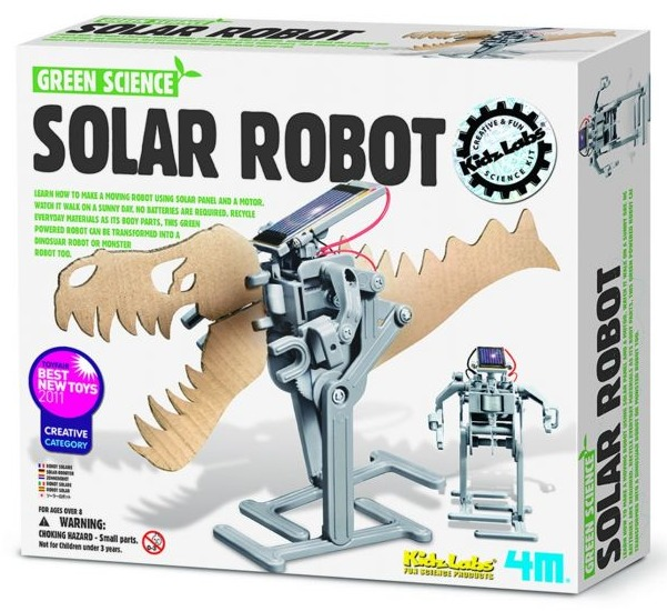 4M: Green Science Solar Robot Kit