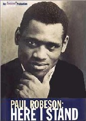 Paul Robeson - Here I Stand on DVD