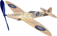 West Wings Profile Model Aircraft Kit - Spitfire (rubber powered)