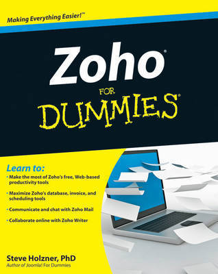 Zoho For Dummies by Steve Holzner