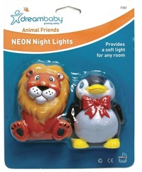 Dream Baby Animal Friends Plug-In Neon Light