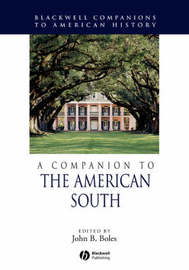 A Companion to the American South image