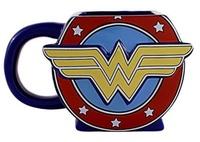 Wonder Woman: Logo 3D Mug - (20 oz.)