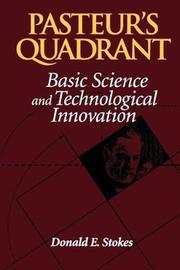 Pasteur's Quadrant by Donald E. Stokes image