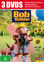 Bob The Builder - 3 DVDs (3 Disc Set) on DVD