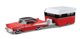 Maisto Tow N' Go: Die-cast Vehicle Set - Classic Red