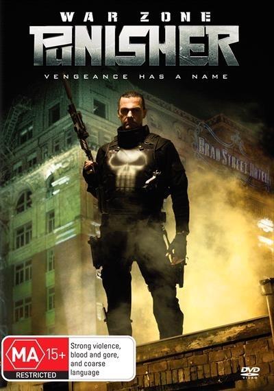 The Punisher: War Zone on DVD