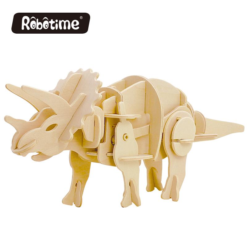 Robotime: Power Triceratops image