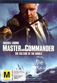 Master And Commander: The Far Side of the World (Two Disc) on DVD image