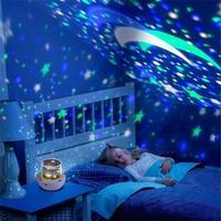 Multifunctional Projector Lamp Night Light Star