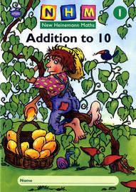 New Heinemann Maths Year 1, Addition to 10 Activity Book image