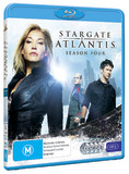 Stargate Atlantis - Season 4 on Blu-ray