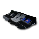 Doctor Who Time Lord Lowcut Socks 3-Pack