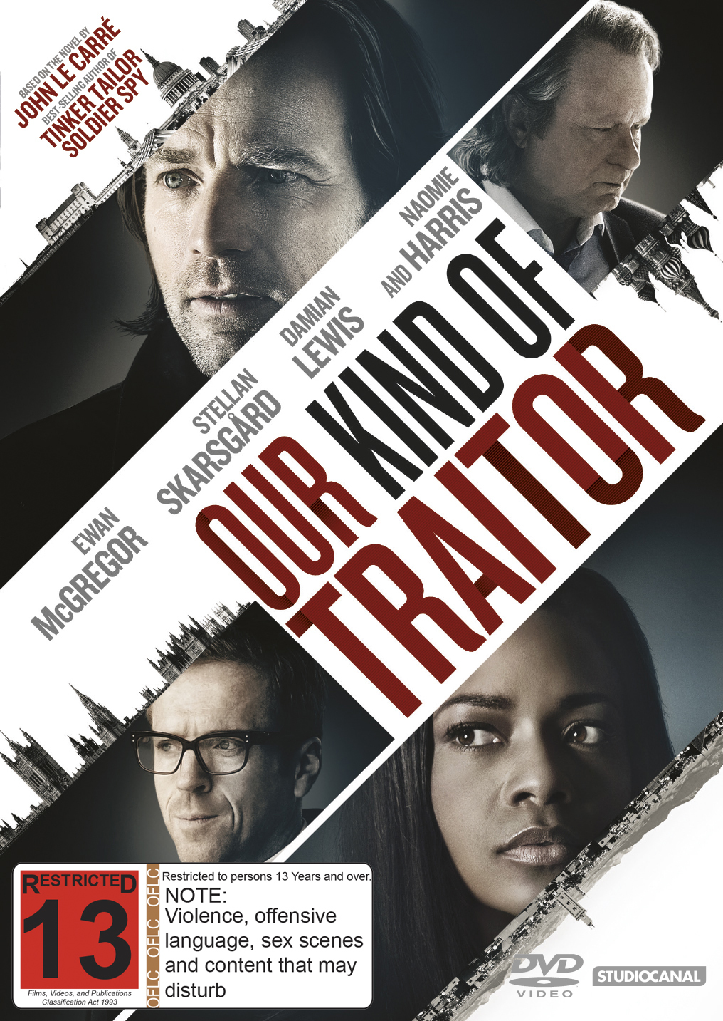 Our Kind Of Traitor on DVD image