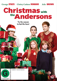 Christmas with the Andersons on DVD image