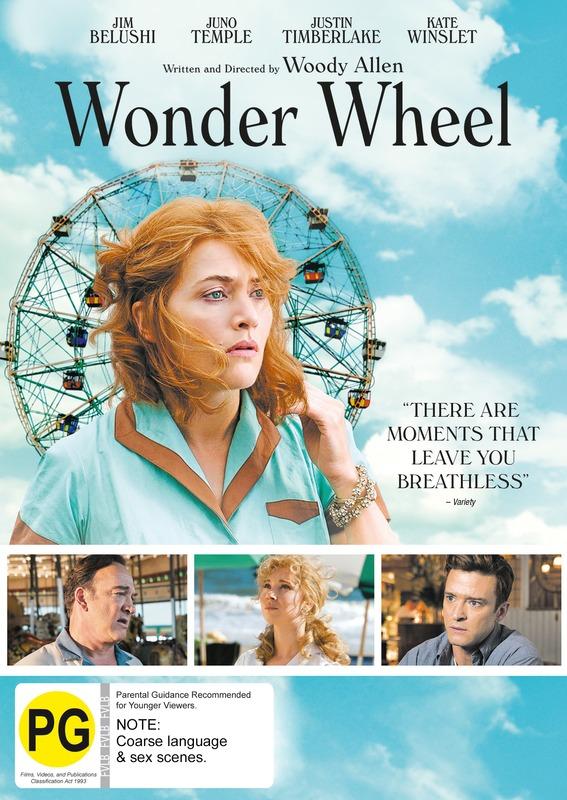 Wonder Wheel on DVD