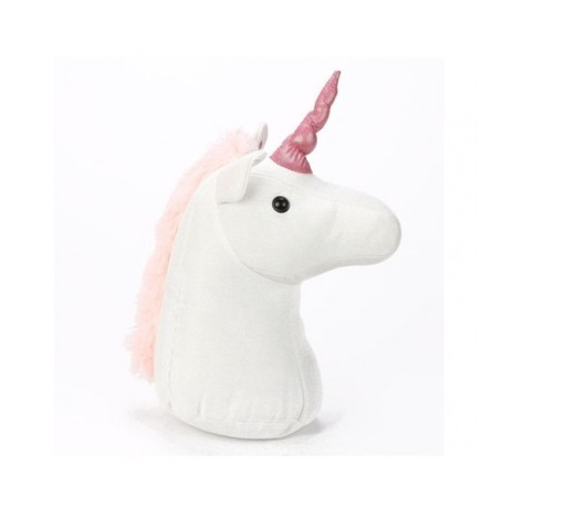 Unicorn Plush Standing Doorstop image