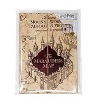 Harry Potter Magnetic A5 Notebook - The Marauder's Map