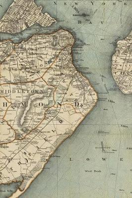 1889 Map of Staten Island, Richmond County, State of New York