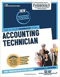 Accounting Technician by National Learning Corporation image