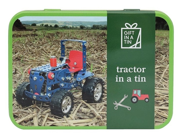 Apples To Pears: Tractor in a Tin - Metal Construction Kit