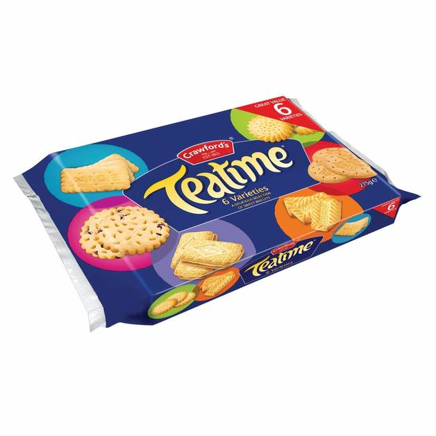Crawfords Teatime Assortment Biscuits (275g)