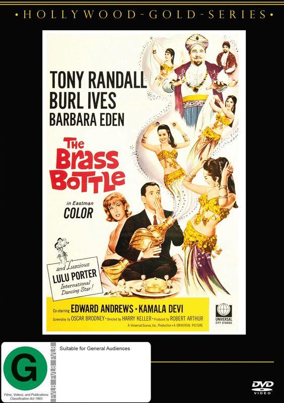 The Brass Bottle on DVD