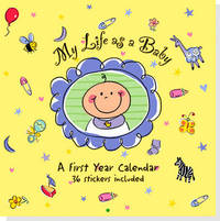 Wall Calendar My Life as a Baby by Peter Pauper Press