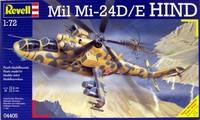 Revell MIL-24 Hind Helicopter 1:72 Model Kit
