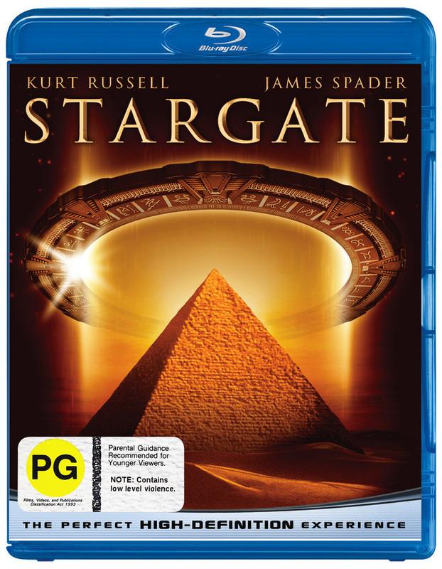 Stargate (Director's Cut) on Blu-ray