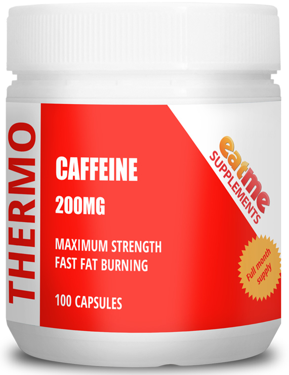 Eat Me Thermo Caffeine 100 Capsules 200mg