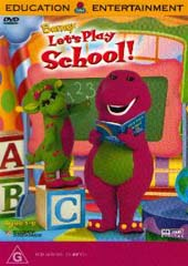 Barney - Let's Play School on DVD