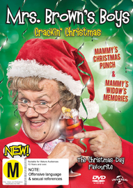 Mrs Browns Boys 2016 Christmas Specials on DVD image