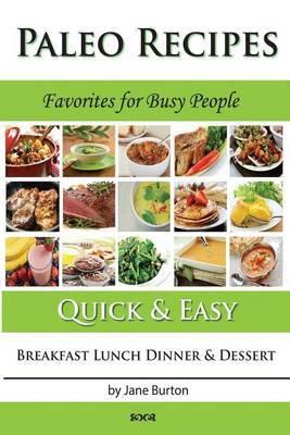 Paleo Recipes by Jane Burton