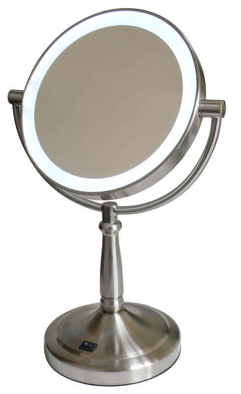 Homedics LED Illuminated Make Up Mirror - Mid Size