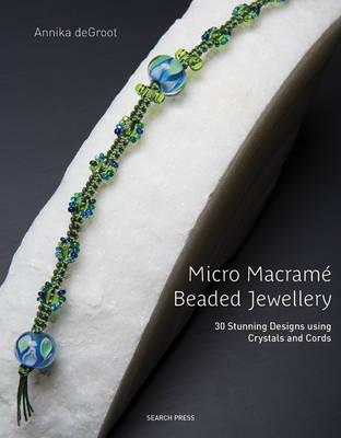 Micro Macrame Beaded Jewellery by Annika de Groot