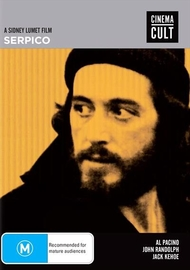 Serpico [Cinema Cult] on DVD