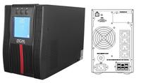 Powercom: Macan Comfort 1000VA/1000W On Line UPS Mini Tower