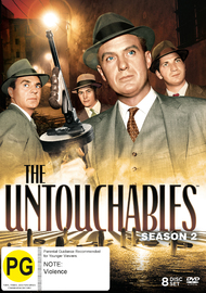 The Untouchables Season 2 on DVD