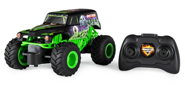 Grave Digger 1 24 Scale Rc Monster Truck Toy At Mighty Ape Nz
