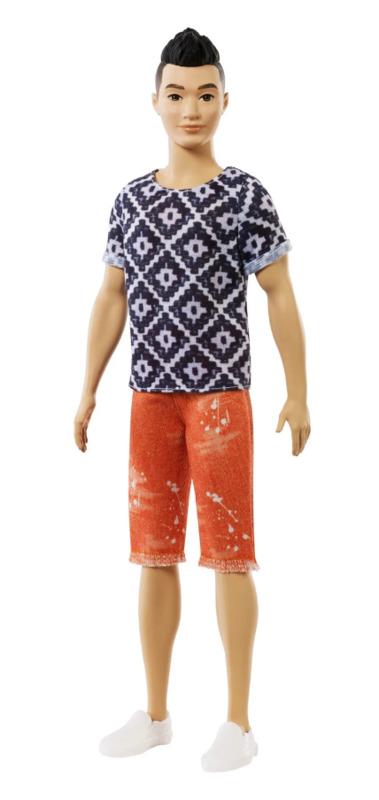 Barbie: Fashionistas - Ken Doll (Boho Hip)