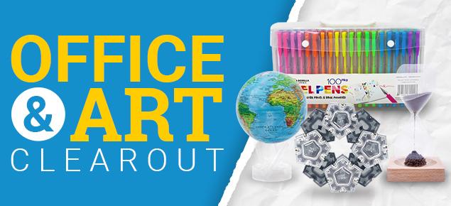 Office & Art Clearout Sale!
