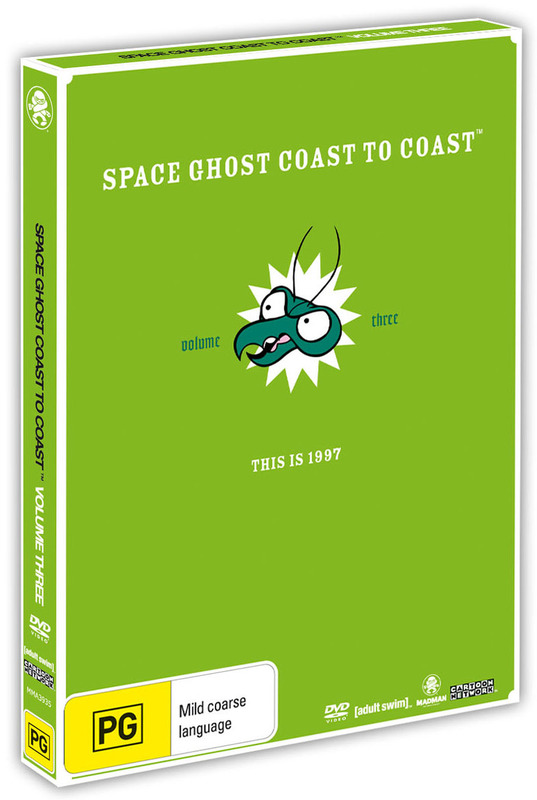 Space Ghost - Coast To Coast: Volume 3 on DVD