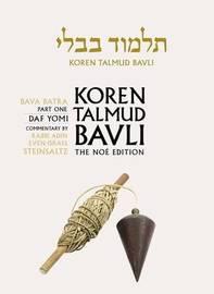 Koren Talmud Bavli: v. 27 by Adin Steinsaltz
