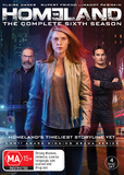 Homeland - Season 6 on DVD