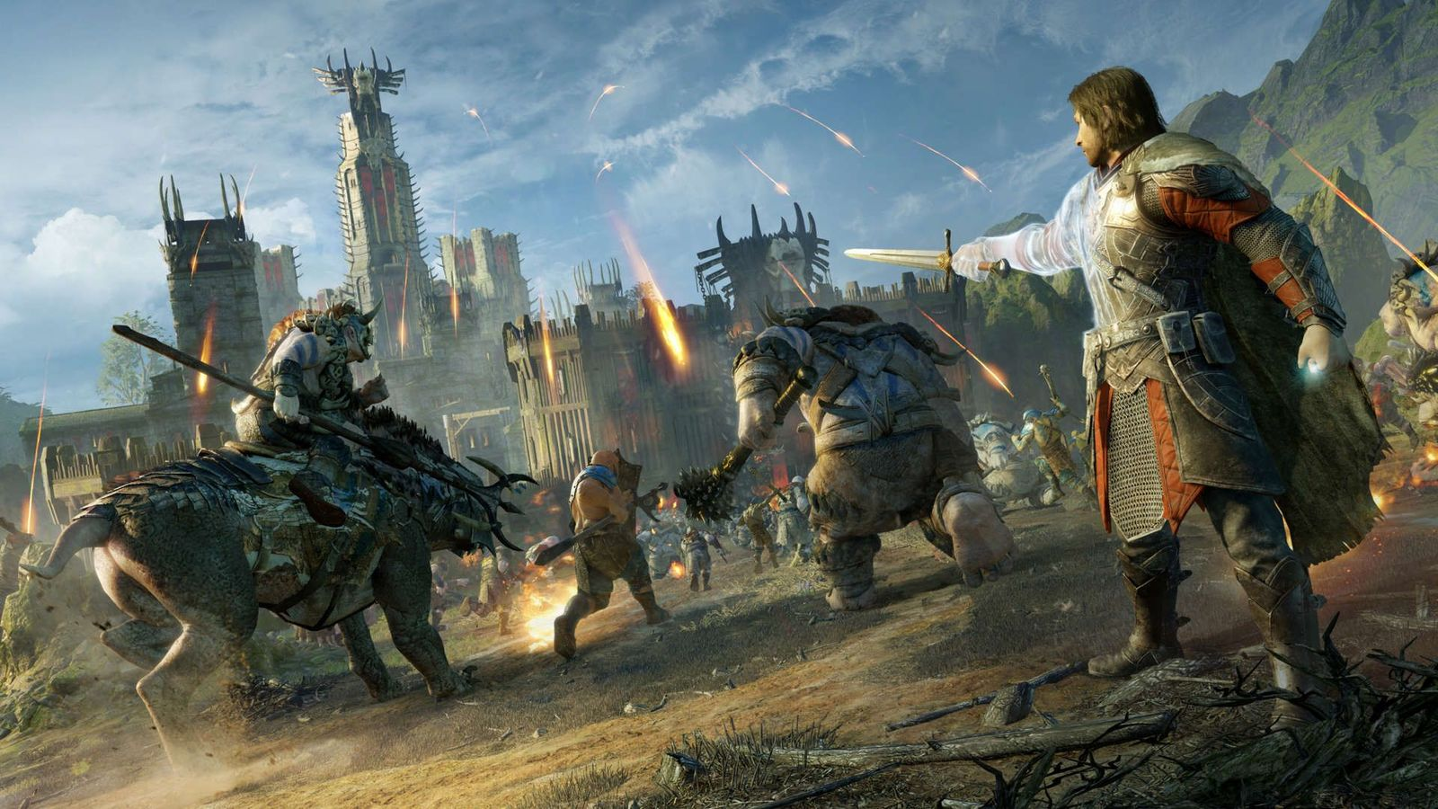Middle-Earth: Shadow of War Silver Edition for PS4 image