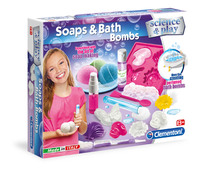 Clementoni: Science & Play - Soap and Bath Bombs
