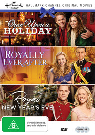 Hallmark Royal Collection: Royally Ever After/once Upon A Holiday/royal New Years Eve on