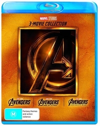 The Avengers: 3 Movie Collection on Blu-ray