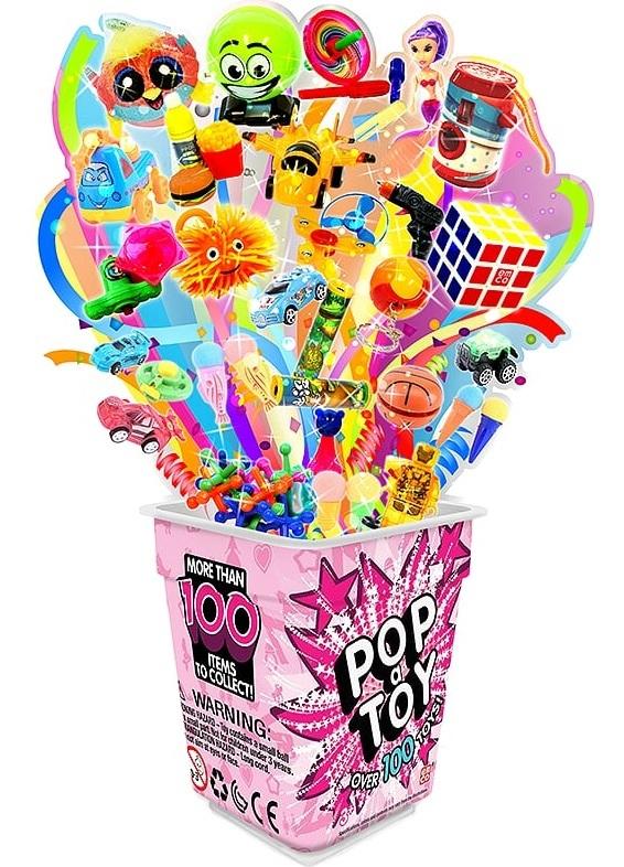 Pop A Toy - Pink